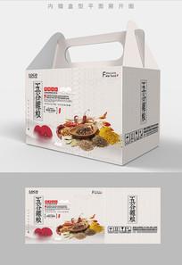 中国风高档五谷杂粮包装盒设计