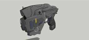 MX-8枪械SU模型 skp