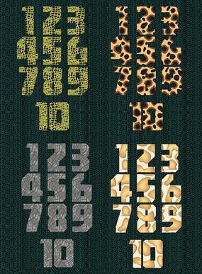 创意1-10数字设计