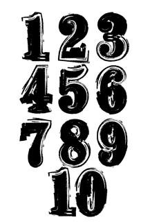 大气笔刷1-10数字设计