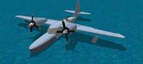 海上救援飞机SU模型