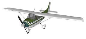 民用小型飞机SU模型