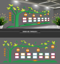 树型校园照片墙