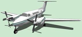 私人飞机SU模型