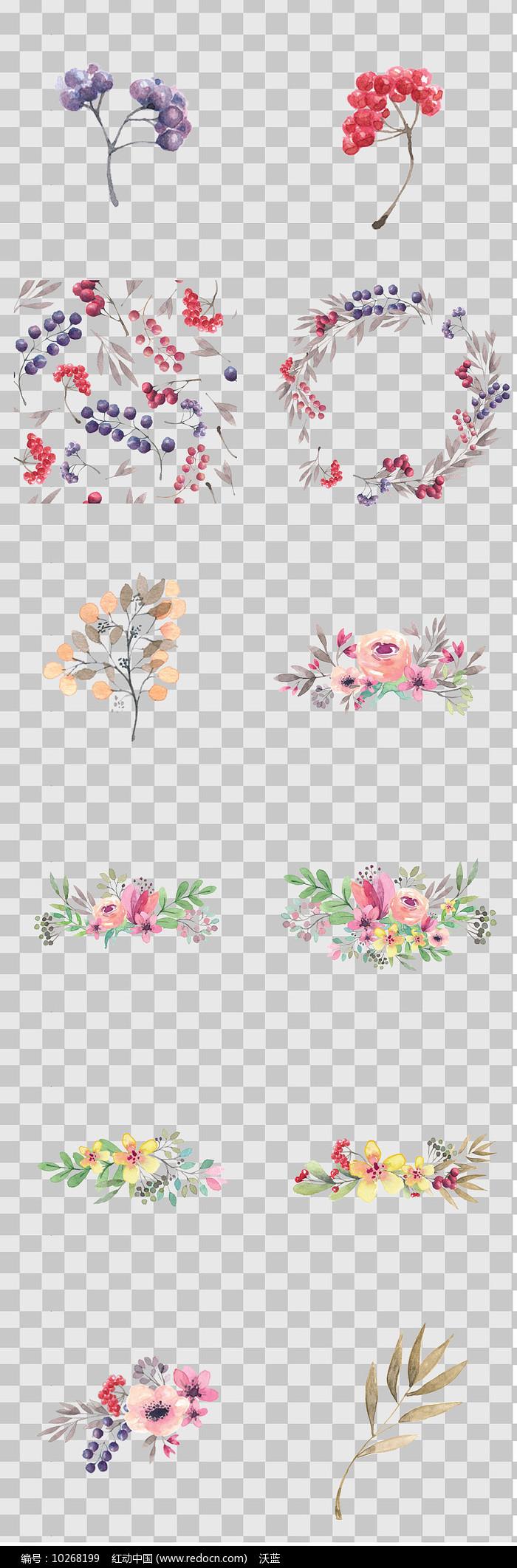 唯美森系植物素材图片