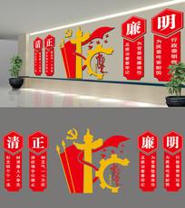 中国梦党政文化墙