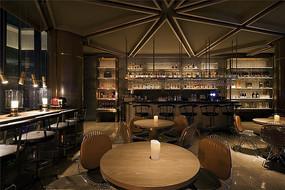 轻奢现代酒吧设计