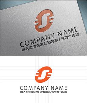 S字母LOGO标志设计