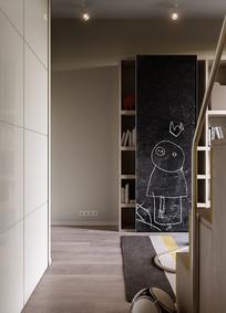 儿童房的黑板