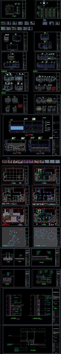 健身房CAD施工图