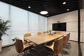 现代公司会议室设计意向