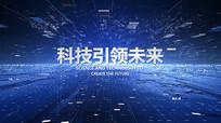 新闻片头片花文字线条字幕AE视频模板