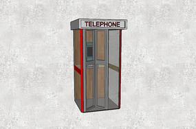 电话亭su
