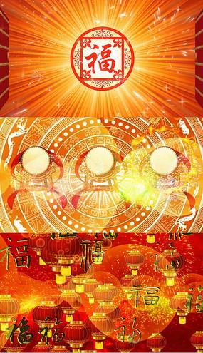 歌曲团团圆圆舞台背景视频