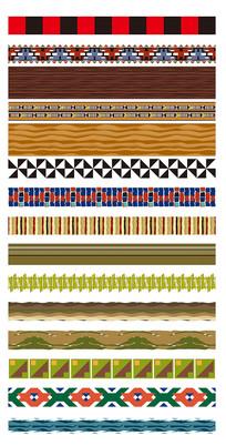 各式边框装饰素材