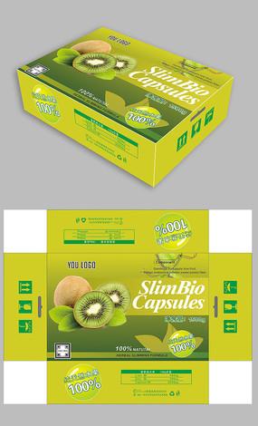 绿色猕猴桃包装