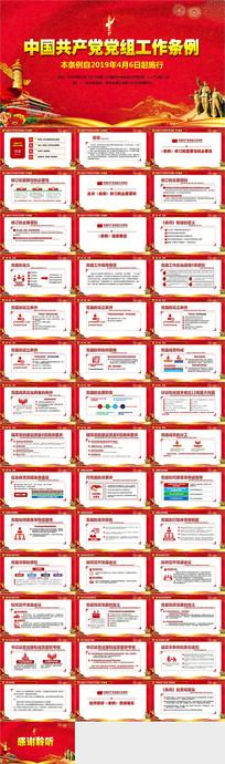 解读中国共产党党组工作条例ppt pptx