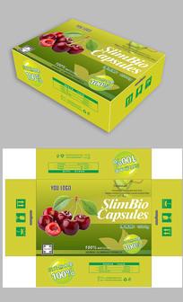 绿色樱桃包装