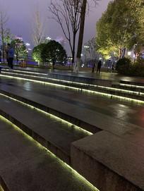台阶灯光设计