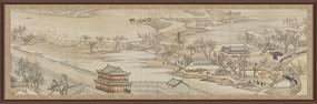 中国风国画山水装饰画