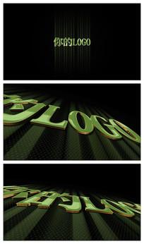 3维logo演绎模板