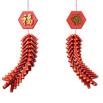 春节元素喜庆节日元素鞭炮