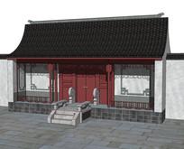 古典中式大门
