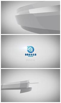简洁logo演绎展示