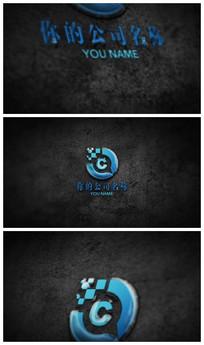 震撼文字logo演绎ae模板