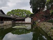 中式传统景观建筑民宿