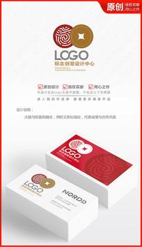 诚信金融财富logo设计商标标志设计