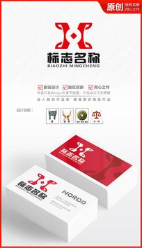 鼎立财富logo设计商标设计金融