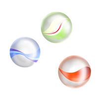 原创插画80后的回忆——玻璃球