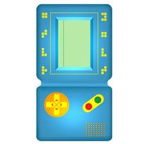原创插画80后的回忆——游戏机