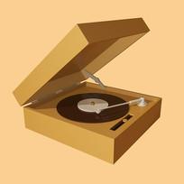 原創元素創意唱片機