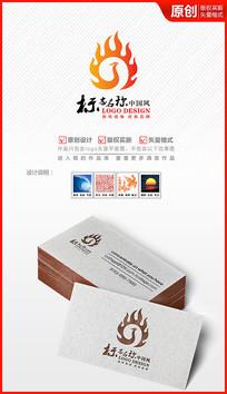 火凤凰logo设计商标标识设计