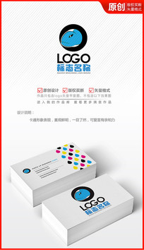 精灵生物蜥蜴logo设计标志商标设计