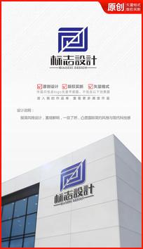 科技公司logo设计大数据logo