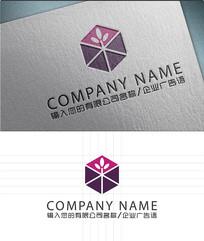 六角形装饰LOGO标志设计