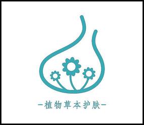 女性护肤品化妆品简约logo商标