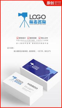 摄影机摄像机logo设计商标标志设计
