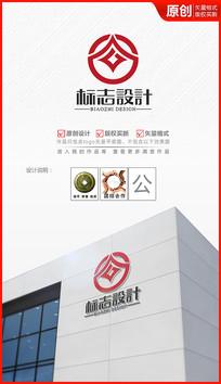天下为公logo设计金融标识商标设计