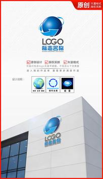 网络科技logo设计商标标志设计
