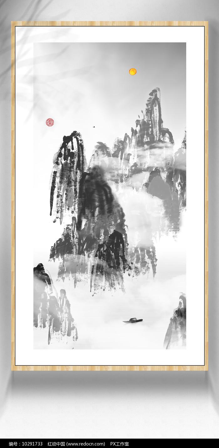您当前访问作品主题是创意山水画水彩画,编号是10291733,文件格式是ps图片