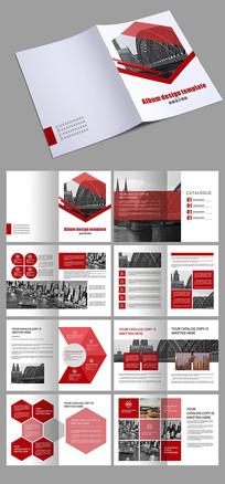 红色电子科技工业画册