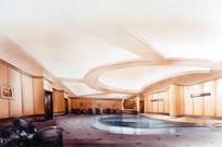 室内泳池手绘