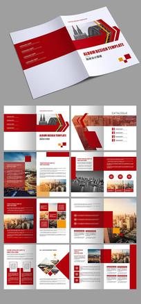 红色科技企业画册