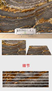 欧式大理石金色纹理石材背景墙