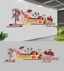 校园文化墙布置模板