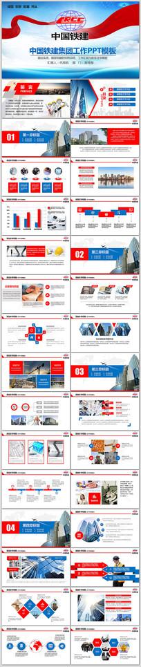 中国铁建集团工作总结计划PPT